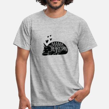 Sprookjesprins Unicorn Bear Mum - Mannen T-shirt