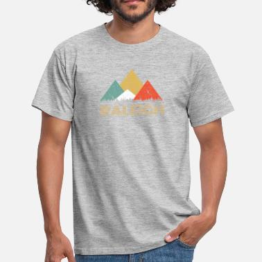 Raleigh Retro City of Raleigh Mountain Shirt - Men's T-Shirt