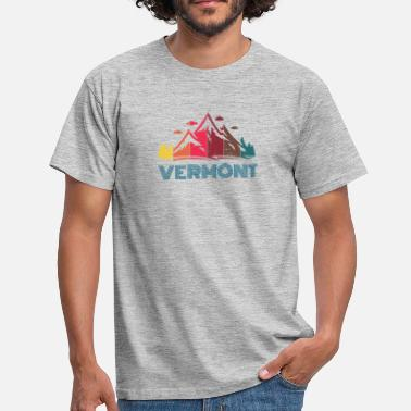 Rutland Mountain State VERMONT - T-skjorte for menn