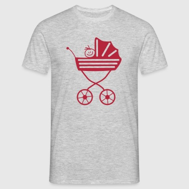 baby buggy - Men's T-Shirt