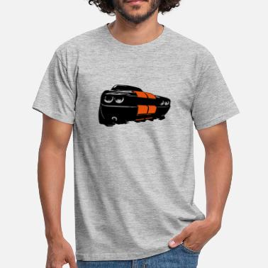 Dodge Challenger New Muscle - Männer T-Shirt