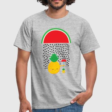 Pineapple Melon Rain - Herre-T-shirt