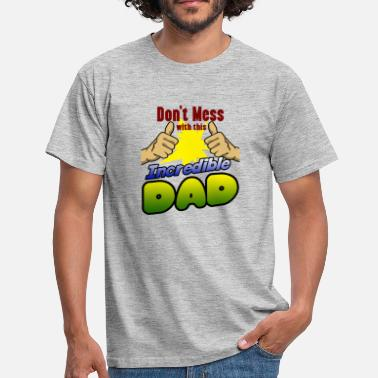 This Guy Is Going To Be A Grandpa Incredible dad family member gift for birthday - Men's T-Shirt