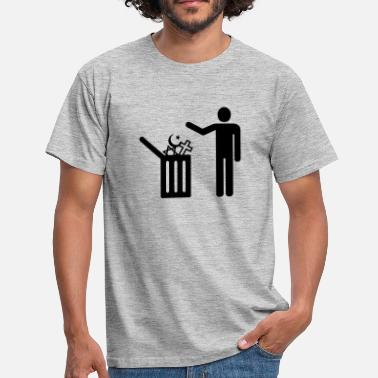 Religion religion - rubbish - T-shirt herr