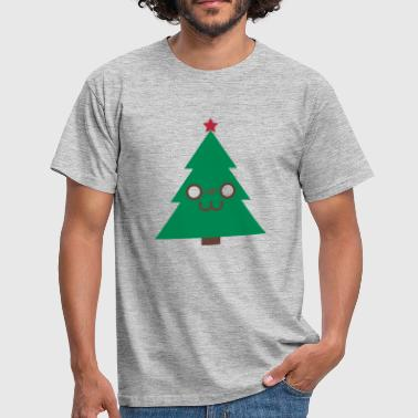 Cute Tree (Vektorgrafik) - Männer T-Shirt