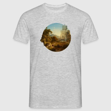 robot idyll no text - Männer T-Shirt