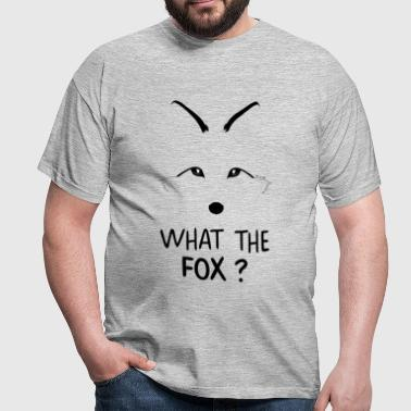 What the Fox ? - T-shirt Homme