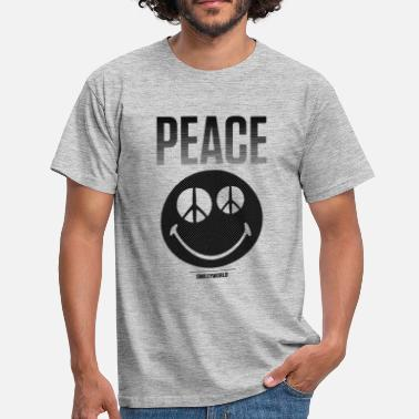 Smiley SmileyWorld Peace Friedlicher Smiley - Männer T-Shirt