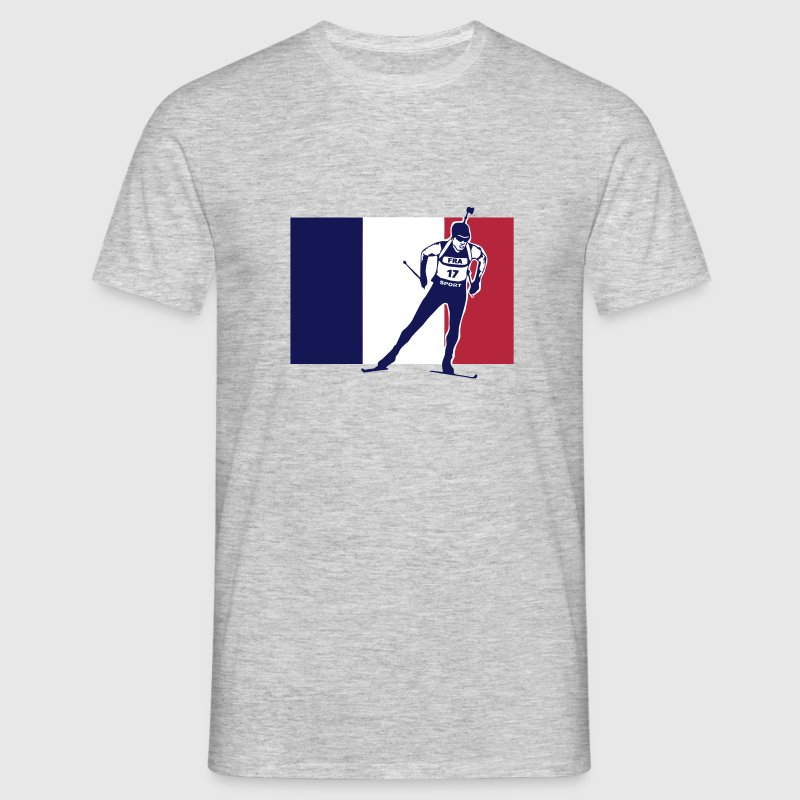 Biathlon - cross country skiing  - France - T-shirt Homme