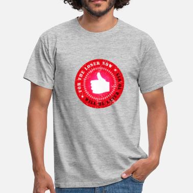 the loser is the winner - Männer T-Shirt