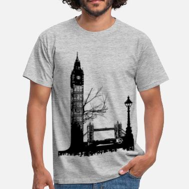 London Souvenir AD L like London - Men's T-Shirt