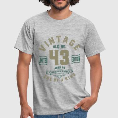 Old No. 43 Aged To Perfection - Men's T-Shirt