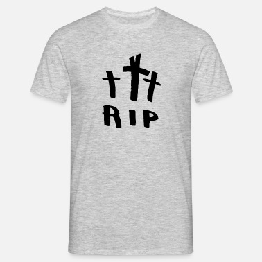 Rest In Peace Rest in Peace - Männer T-Shirt