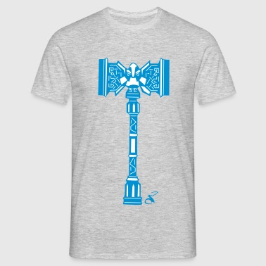 Dwarven War Hammer - Men's T-Shirt