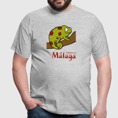 Welcome to Malaga 2 - Men's T-Shirt