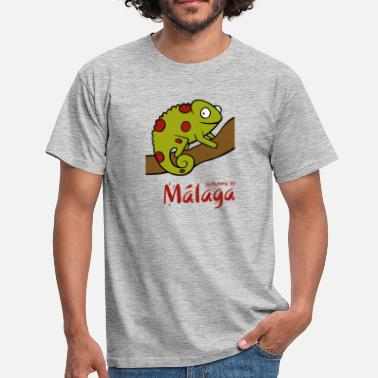 Kameleon Welcome to Malaga 2 - Men's T-Shirt