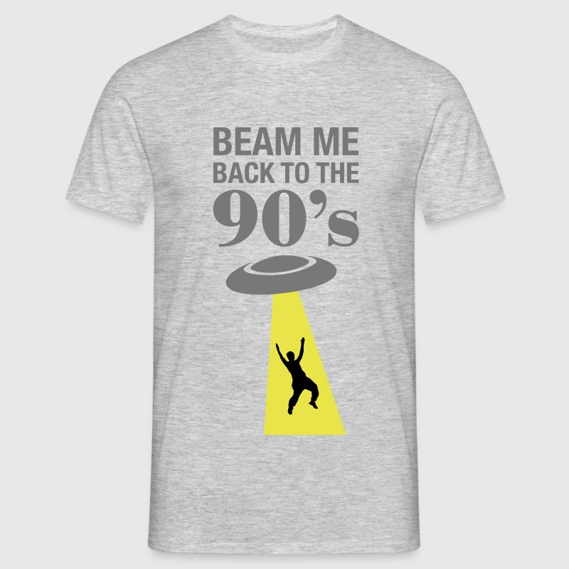 Beam Me Back To The 90's  - Männer T-Shirt
