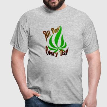 Pot Leaf - Men's T-Shirt