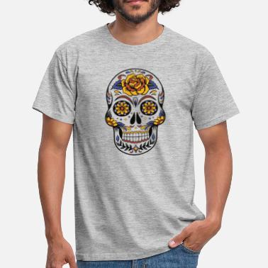 Day Of The Dead Skull - Day of the Dead - T-skjorte for menn