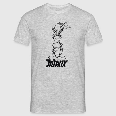 Asterix & Obelix - Asterix model Mänenr Hoodie - Men's T-Shirt