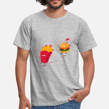 French Fries Love story - Men's T-Shirt