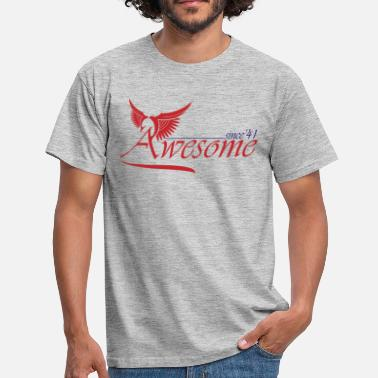 Awesome Since  Awesome SINCE 1941 - Men's T-Shirt