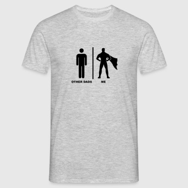 Other Dads - Me Superhero - Mannen T-shirt