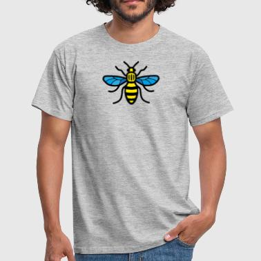 Madchester Manchester Bee (Couleur) - T-shirt Homme