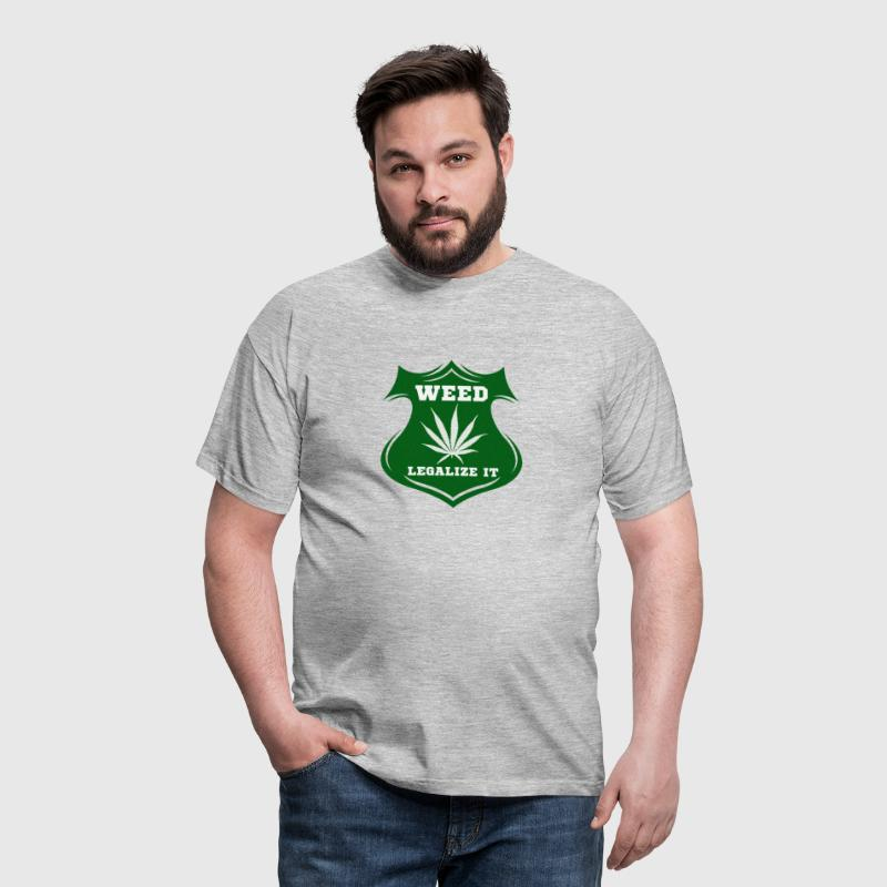 Weed - Legalize it - Männer T-Shirt