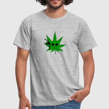 Alien Weed Alien Weed - Men's T-Shirt