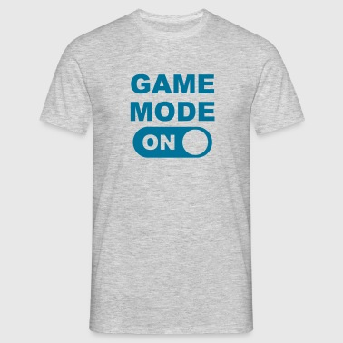 Game Mode on - Mannen T-shirt