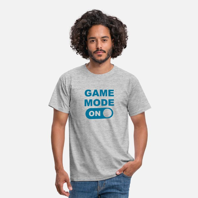 Circuit T-Shirts - Game Mode on - Men's T-Shirt heather grey