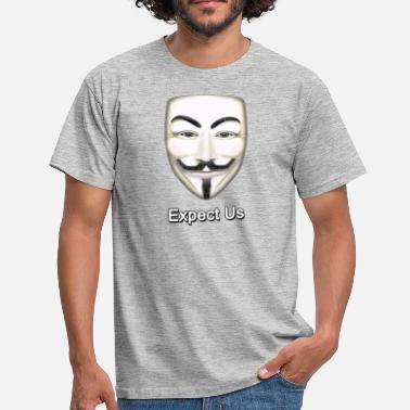 Guy Fawkes Guy Fawkes - Mannen T-shirt