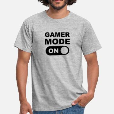 Mode Gamer Mode On - T-shirt herr
