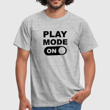 Play Mode On - Camiseta hombre