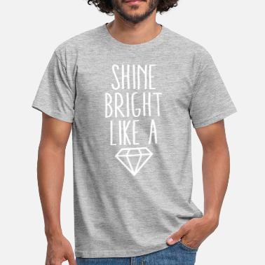 Diamond Supply Shine Bright Like Diamond - T-shirt Homme