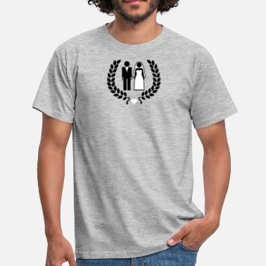 Wedding Couple Wedding couple - Hochzeitspaar - Männer T-Shirt