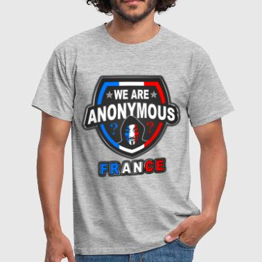we are anonymous france - T-shirt Homme