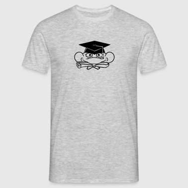 head face education school graduation school leavi - Men's T-Shirt