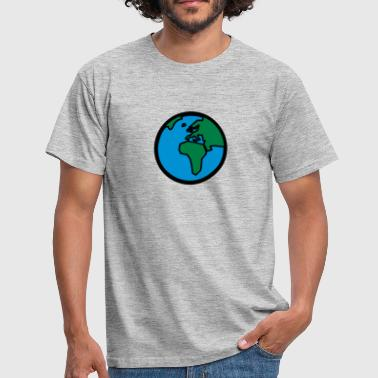 World Globe World Globe - Men's T-Shirt