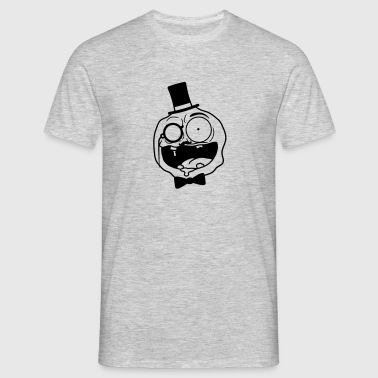 gentleman sir gentlemen rich mustache mustache mon - Men's T-Shirt