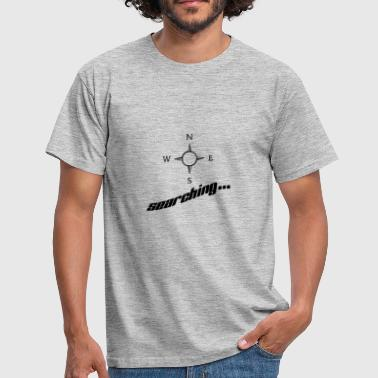 Search searching ... - Men's T-Shirt