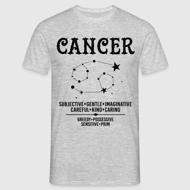 Cancer Zodiac Sign - Men's T-Shirt