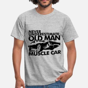 Muscle Car OLD MAN MUSCLE CAR B - T-shirt Homme