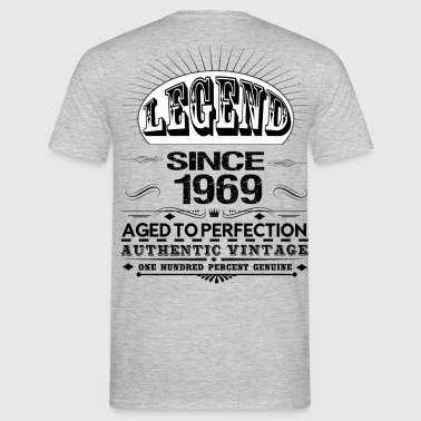 LEGEND SINCE 1969 - Men's T-Shirt