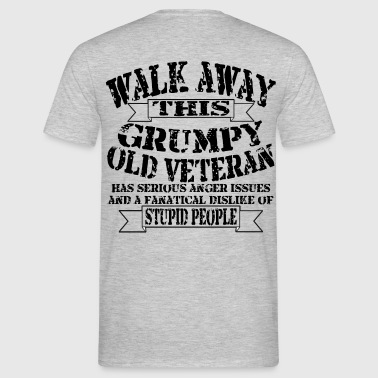 Grumpy Old Veteran - Men's T-Shirt