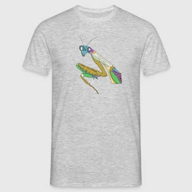 preying mantis - Men's T-Shirt