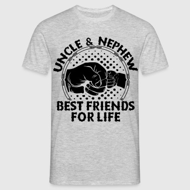 Uncle And Nephew Best Friends For Life - Men's T-Shirt