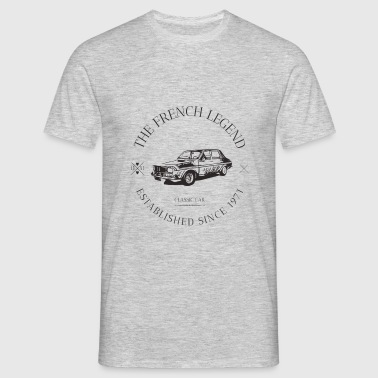 RENAULT R12 GORDINI FRENCH CAR - T-shirt Homme