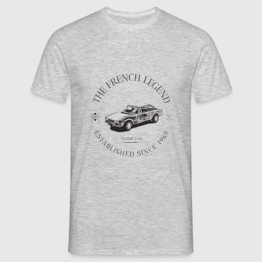 504 coupé FRENCH CAR - T-shirt Homme